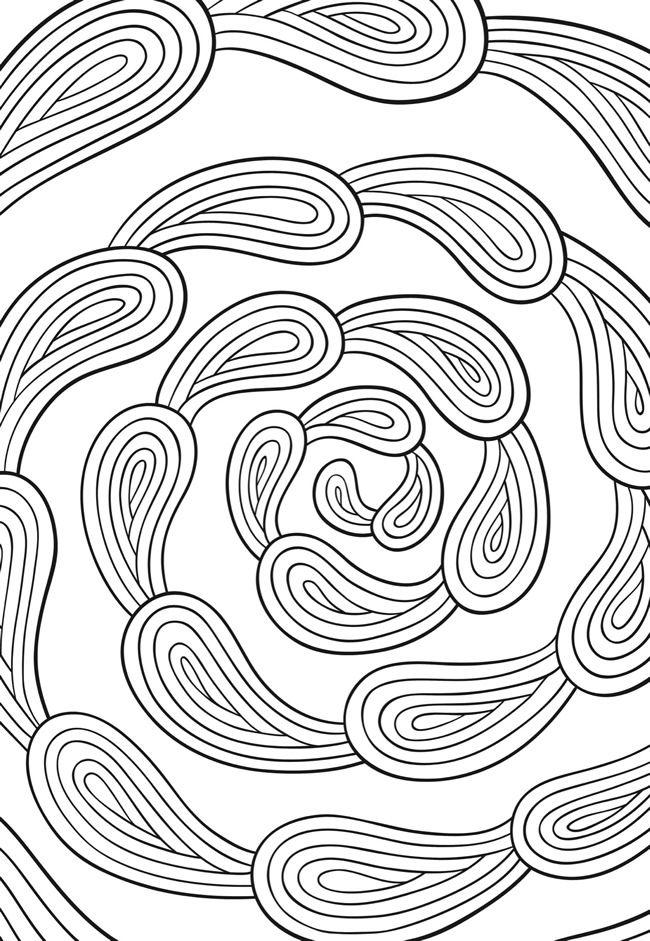 Creative Haven Zenscapes Coloring Book Dover Publications