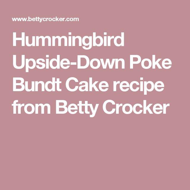 Betty Crocker Pineapple Upside Down Bundt Cake