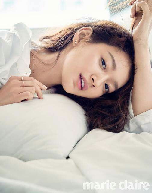 SHIN MIN AH FOR AUGUST MARIE CLAIRE