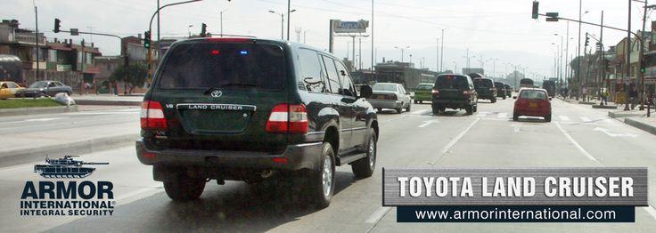Más de 20 años blindando Toyota Land Cruiser | Armor International ::: Blindajes de máximo desempeño