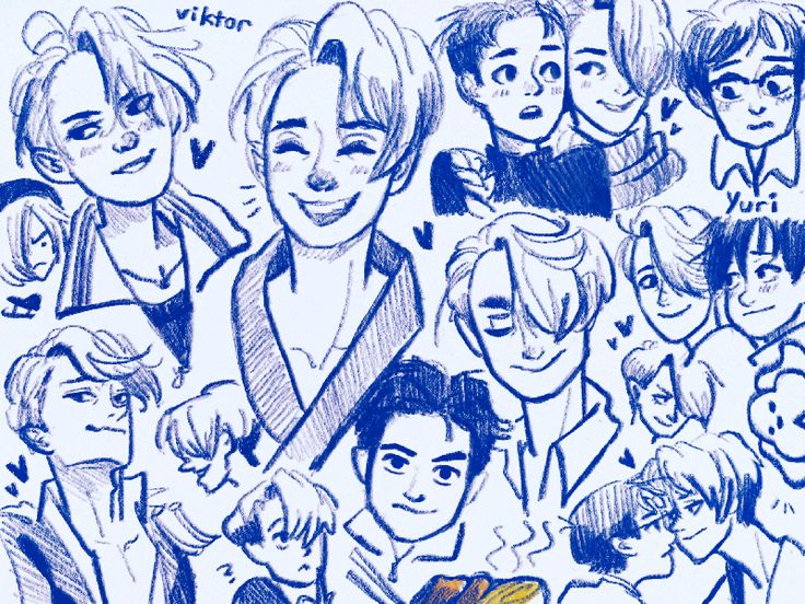 BurpDoodle: Life and Love Viktor and Yuri Studies.   .  Blame Lauren for enabling me to watch the Yuri on Ice anime o . Themes of anxiety (being able to express your feelings only through your performance/art)   giving yourself up fully for your career    pushing and understanding your limits    learning and growing together with another    discovering sensuality feelings of love pure physical expression of self    competition rivalry friendship and inspiration    feeling truly understood…