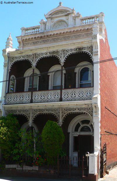 Shoreham: 9 Chetwynd Street, North Melbourne. Victoria