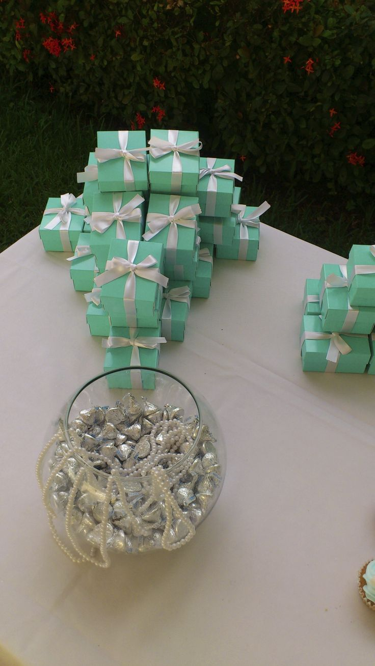 white, mint, silver and pearls!