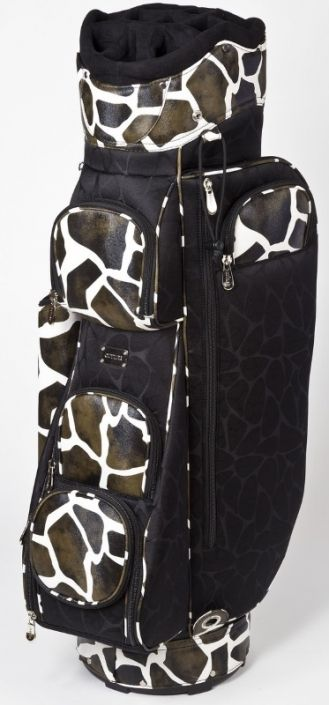 Check out our Monroe Giraffe Cutler Ladies Golf Cart Bag! Find the ebst golf gears and accessories at #lorisgolfshoppe Click through to own this golf bag!