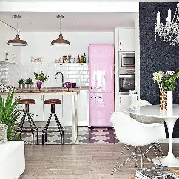 #bomdia #smeg #rosa #espacogourmet #amazing #arquitetura #architecture  #contemporary #decor #design #decoration #home #homestyle #instadecor  #instahome ... Part 88