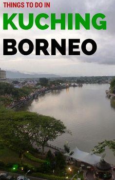 A complete guide to Kuching in Borneo  #travel #travelling #destinations #travelblogger #travelstories #travelinspiration #besttravel #tourism #travelwriter #travelblog #traveldeeper #traveltheworld #Borneo #BorneoTravel  http://adventuresoflilnicki.com/