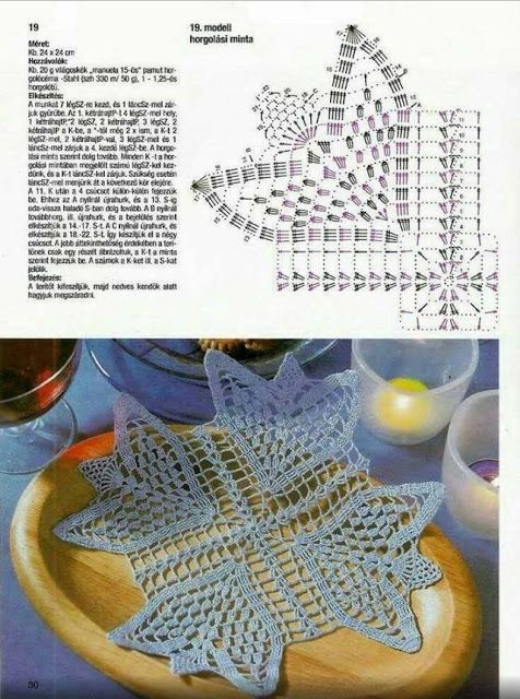 Kira scheme crochet: Scheme crochet no. 3209