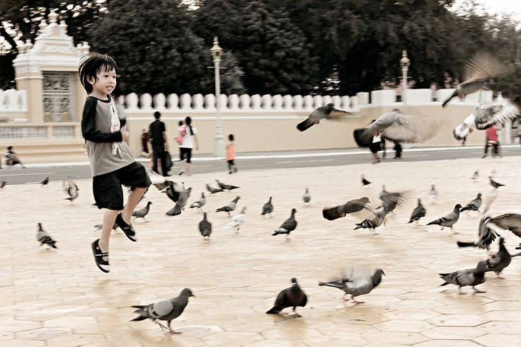 Chasing Pigeons by Tina Reymann on 500px