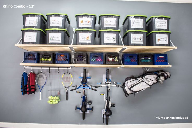 Industry-leading design, strength, and engineering. Rhino Shelf is the American-made storage solution for you.