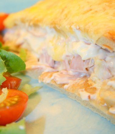Varm smörgåstårta | Jennys Matblogg