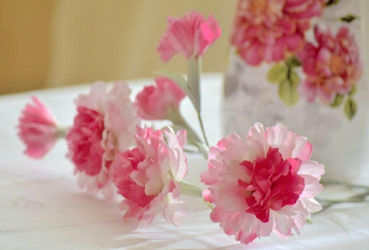 Clove Flower Cloves Japanese Silk Fabric Interior Flowers by FlowerFlirt on Etsy