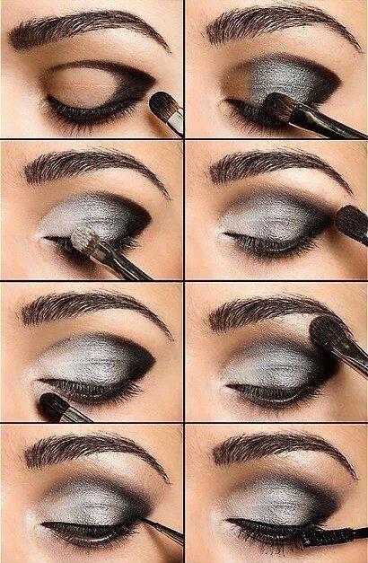 Maquillaje de ojos para noche #trucos #makeup