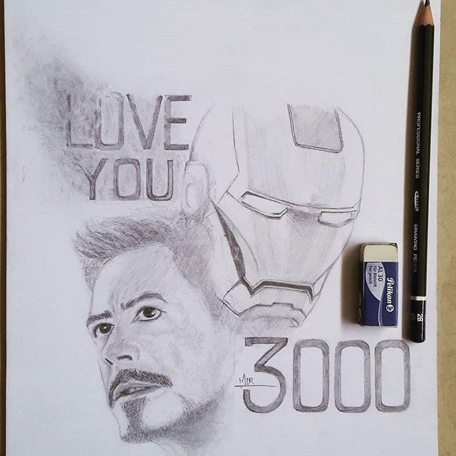 Pin By Aayushmaan Sail On Art And Sketches Marvel Art Drawings Iron Man Art Iron Man Drawing