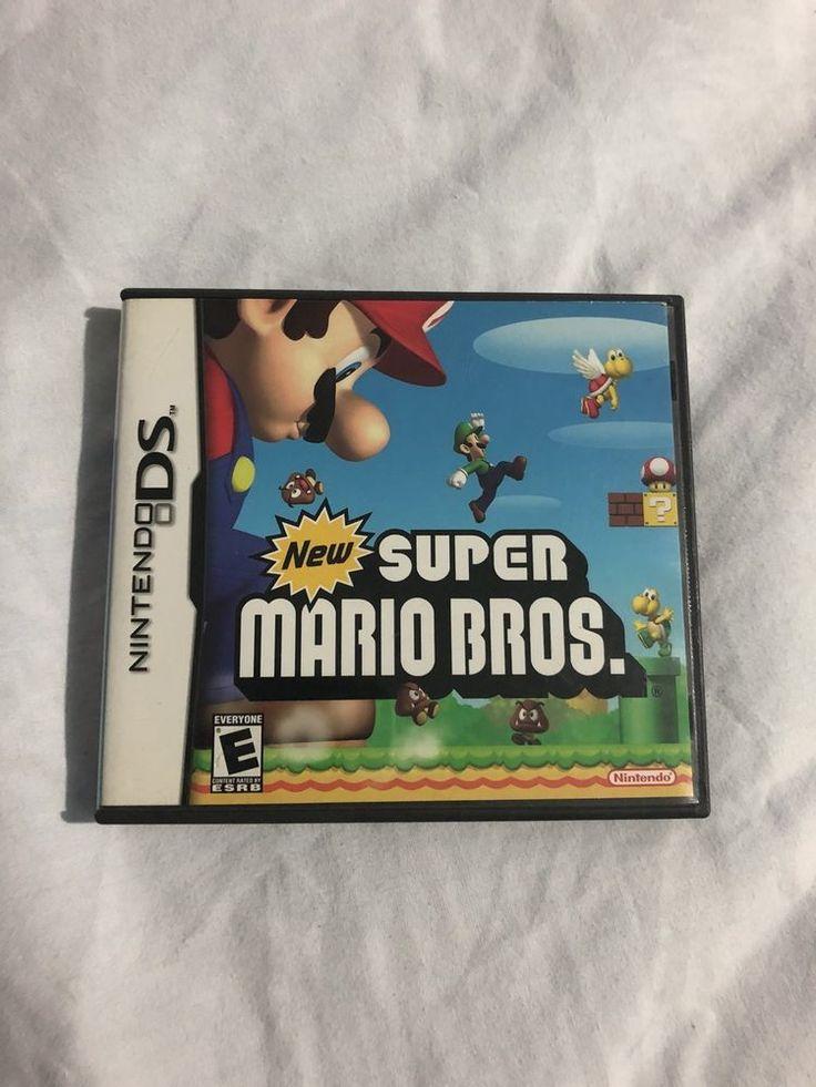 New Super Mario Bros. (Nintendo DS, 2006) CASE & MANUAL ONLY