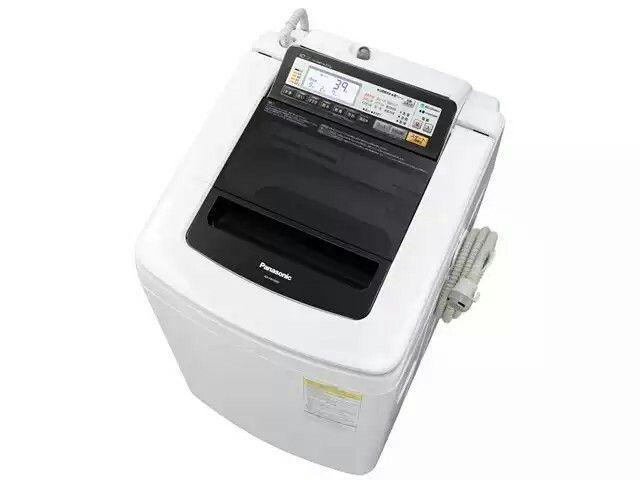 パナソニック 縦型洗濯乾燥機 洗乾 すっきりフロント