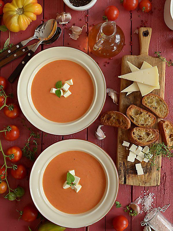 Zupa pomidorowa z pieczonych pomidorów - najlepsza na świecie :) - film video HD…