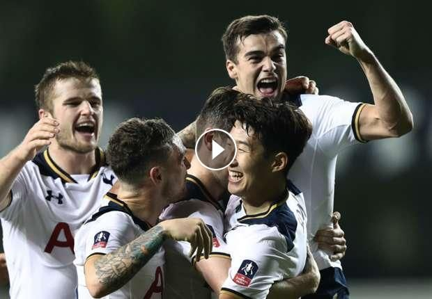 Video: Tottenham Hotspur vs Aston Villa Highlights - FA Cup, January 8, 2017. You are watching football / soccer highlights of FA Cup match: Tottenham...