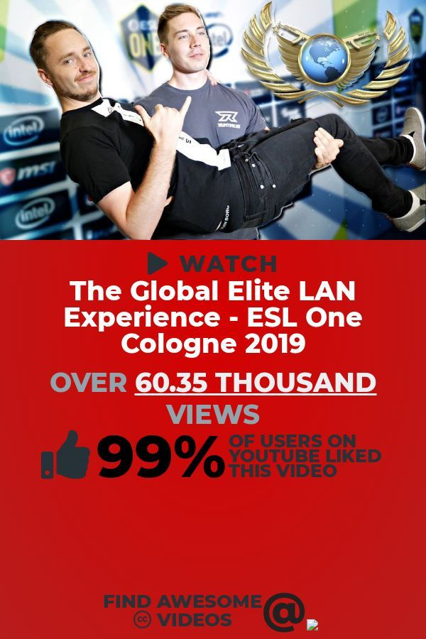Ready For A Shweet Gaming Video To Watch This Clip Titled The Global Elite Lan Experience Esl One Cologne 2019 Is Sur In 2020 The Incredibles New Music Hilarious