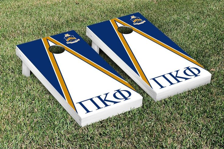 Pi Kappa Phi Triangle Cornhole Game Set
