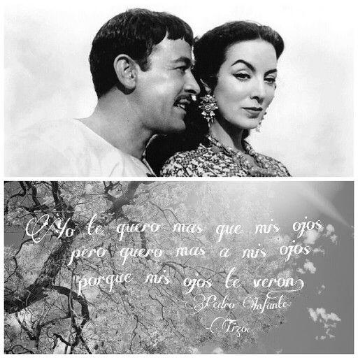 Tizoc. Pedro Infante y Maria Felix.
