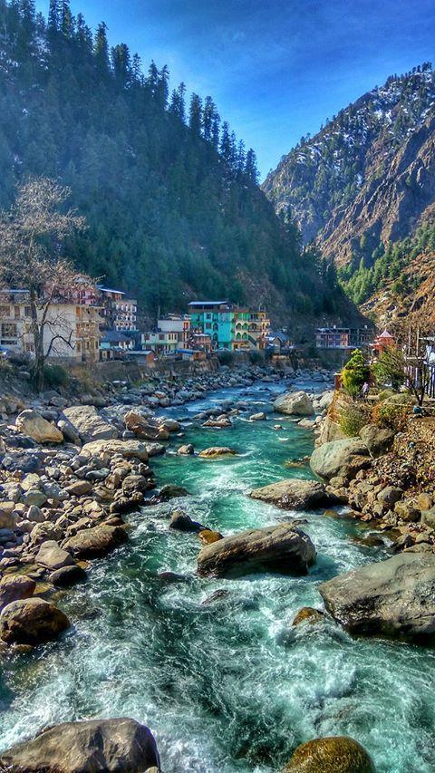 Manikaran, Kullu PC - Yogesh Motiyani  #himachal #india #bharat #nature #hindustan #manikaran