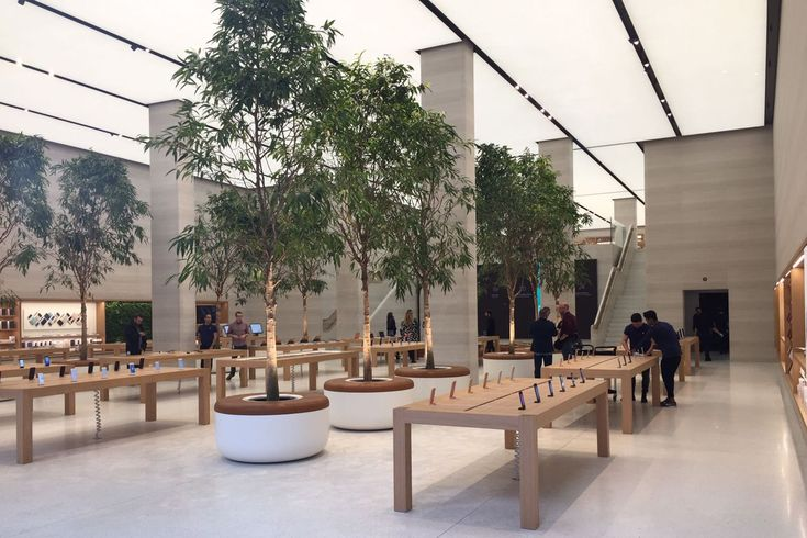 Apple Regent Street, the flagship store, is reopening on Saturday 15 October after a major redesign by Norman Foster. GQ takes a first look inside...