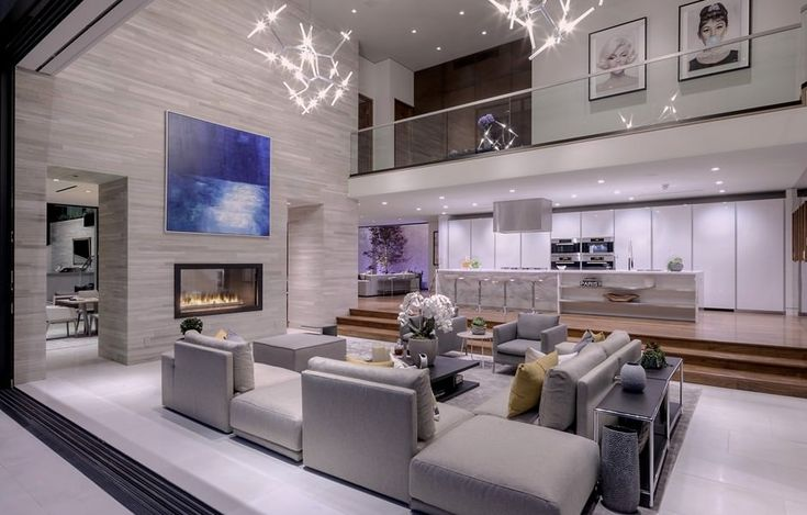 Luxury Houses Modern Living Family Rooms Living Rooms House Design