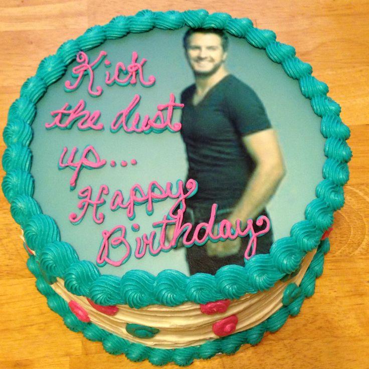 Luke Bryan cake