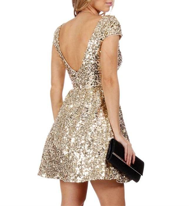 vestido de fiesta color oro viejo - Buscar con Google