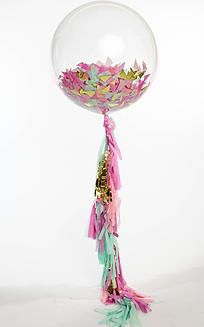 Giant Balloons with Tassel Tails