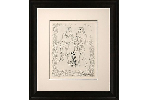 One Kings Lane - Find the Perfect Piece - Georges Braque, Eros & Eurybia