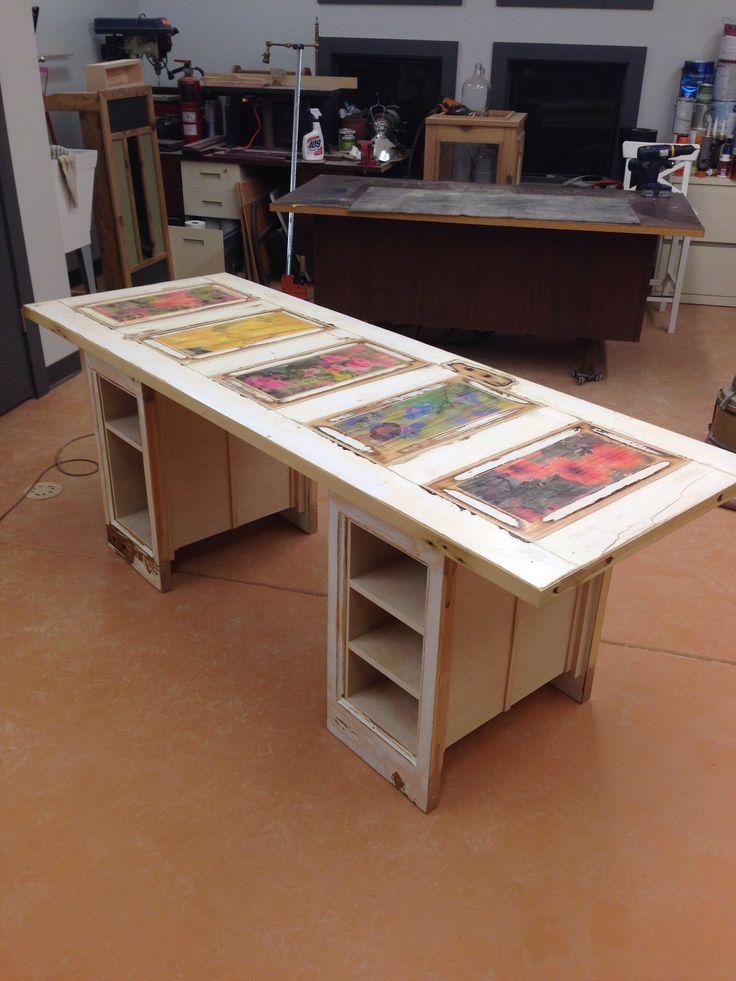 Best 25 Old Door Desk Ideas On Pinterest Old Door