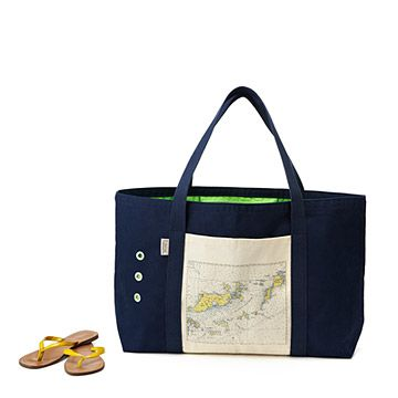 Look what I found at UncommonGoods: Custom Map Beach Tote for $150.00