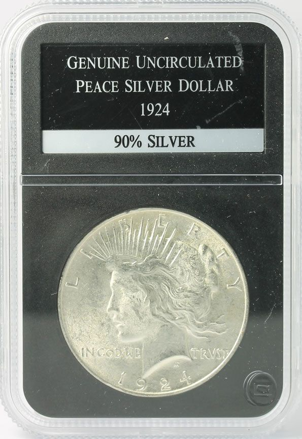 1924 Peace #Silver Dollar Uncirculated PCS Stamps & Coins 90% Silver #Coins http://www.ebay.com/itm/-/401284134166?roken=cUgayN&soutkn=IRGYd1 via @eBay