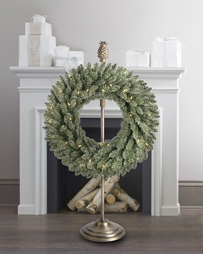 25+ Best Ideas About Wreath Stand On Pinterest