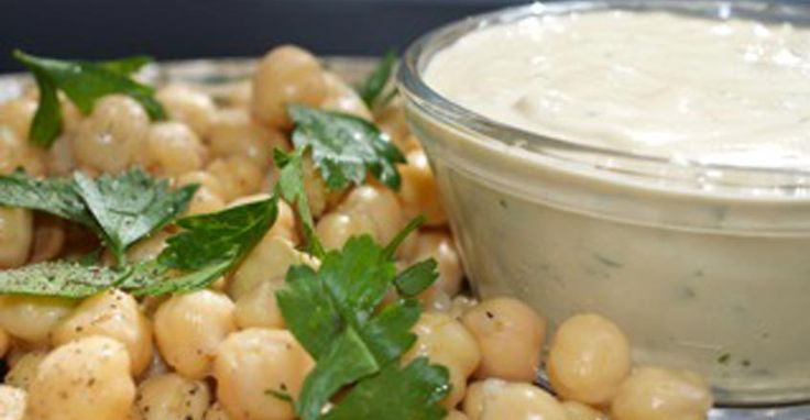 garlic and lemon Tahini Sauce by Steve K. {T. Colin Campbell Center for Nutrition Studies}