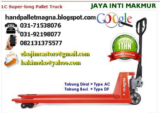 HAND PALLET GARPU PANJANG 2 METER 082131375577 = CALL/SMS/LINE/WA 5280DAEF (PIN BB)