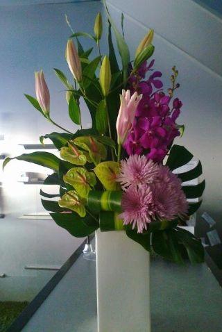 Corporate Flower Arrangement by Wedstyle. www.wedstyle.com.au #corporate #flower #arrangement #ideas