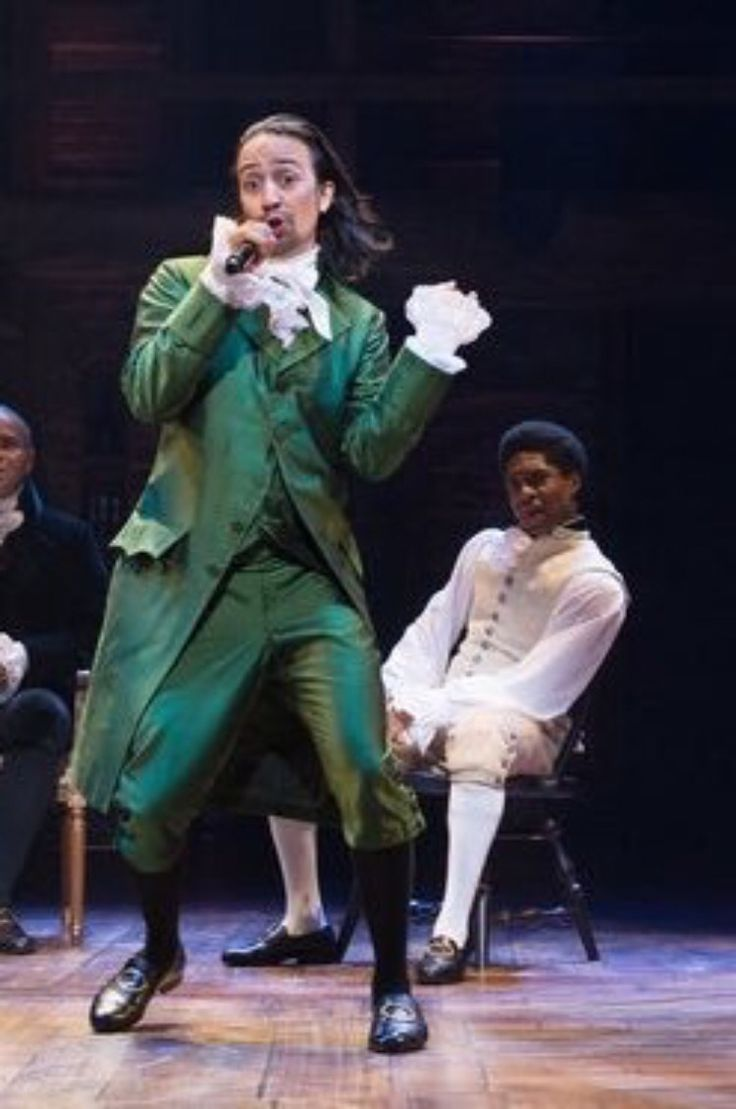 a report on lin manuel mirandas hamilton a broadway hit musical Corrects caption to state that the show will move to broadway after the production honors its off-broadway extension - in this image released by the public theater, lin-manuel miranda, center, performs in the musical hamilton at the public theater in new york.