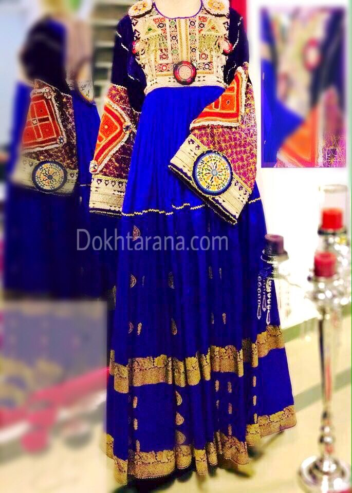 #royal #blue  #afghani #dress