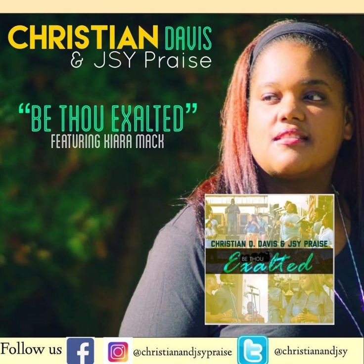 DOWNLOAD the latest single #BeThouExalted from Christian D. Davis & JSYPraise for $0.99! Are you looking for some new gospel music for your church praise team or choir. Download: https://itunes.apple.com//be-thou-exalted-single/1315136070 Available on all social media music streaming!!! #supportGospelmusic #supportDMVGospel #christianandjsypraise #letsGoHigher #dmv #gospel #gospelgrind.com #dc #nyc #philly #baltimore #atl #praise #worship #exalt #gospelgrind #ccm #chh #support