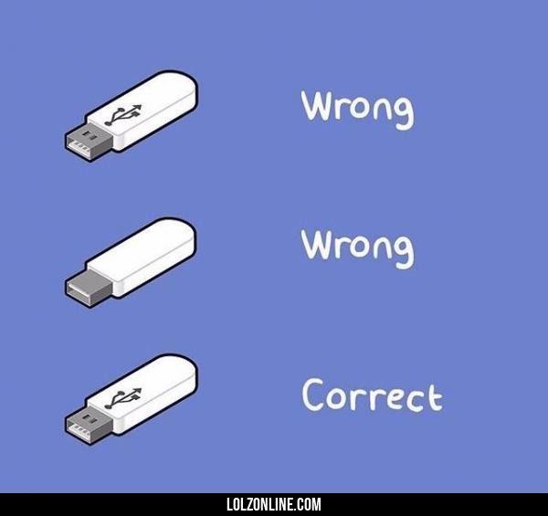 USBs in a nutshell#funny #lol #lolzonline