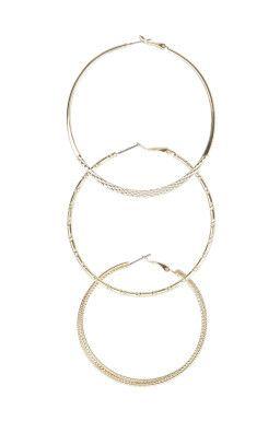 Set of 3 Hoop Earrings TALLY WEiJL