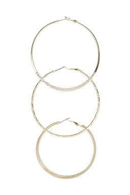 Set of 3 Hoop Earrings TALLY WEiJL