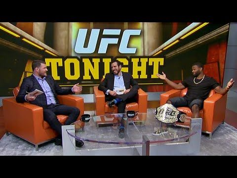 UFC ON FOX: Tyron Woodley and Michael Bisping discuss St-Pierre situation