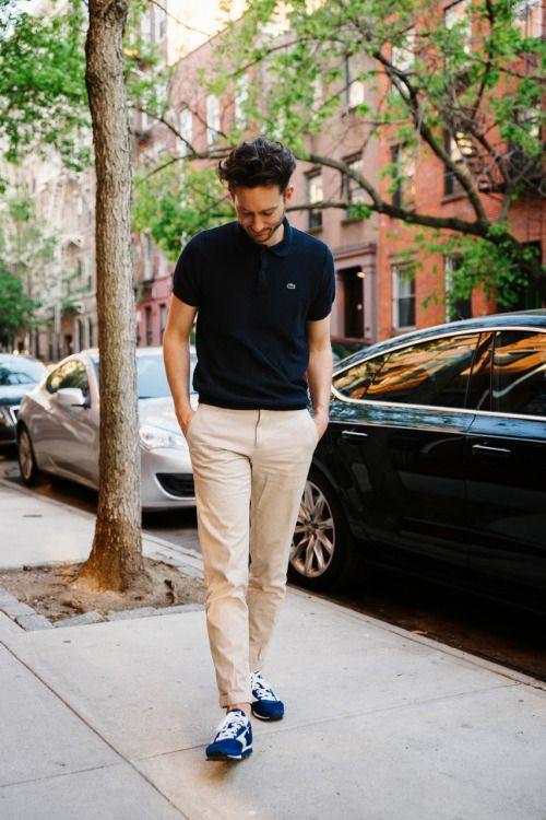 ポロシャツの着こなしとコーデ | メンズファッションスナップ フリーク