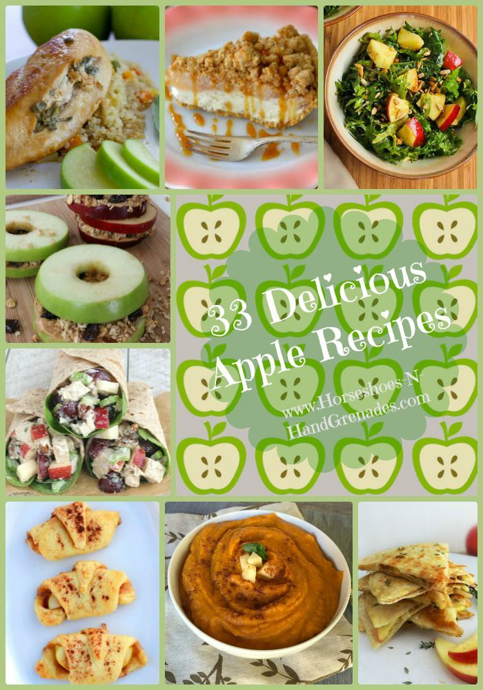 33 Delicious Apple Recipes