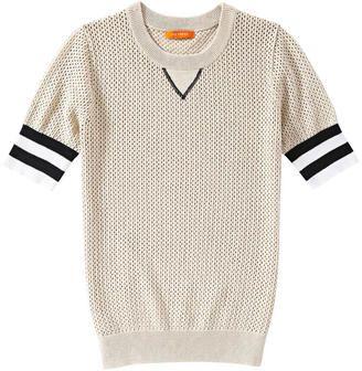 Joe Fresh Varsity Sweater - Tan - Shop for women's Sweater - Tan Sweater