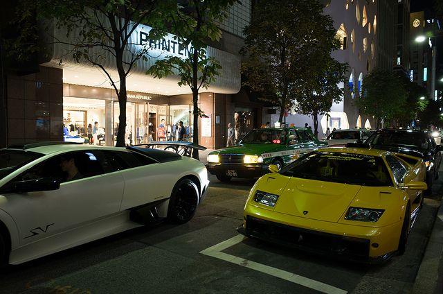 Lamborghini Diablo & Murcielago