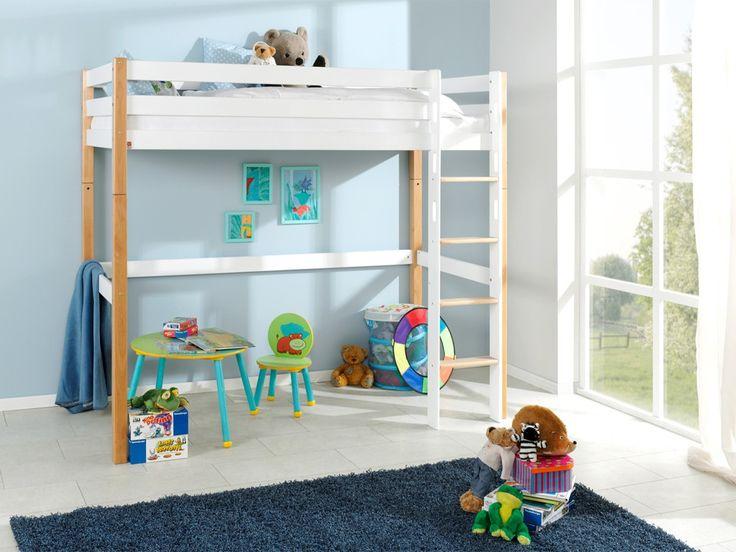 Łóżka z kolekcji Wendy powstały z myślą stworzenia w pokoju dziecka doskonałego miejsca od zabawy i rozwoju. Z antresoli po rozmontowaniu możemy stworzyć łóżko parterowe. Prezentowane łóżko piętrowe zostało wykonane z drewna bukowego, dostępnego w kolorach: lakierowanym naturalnym i białym. Podstawowa cena produktu zawiera łóżko antresolę ze stelażem. Oferowane łóżko oraz wszystkie pozostałe produkty w tej kolekcji posiadają niezbędne cer...